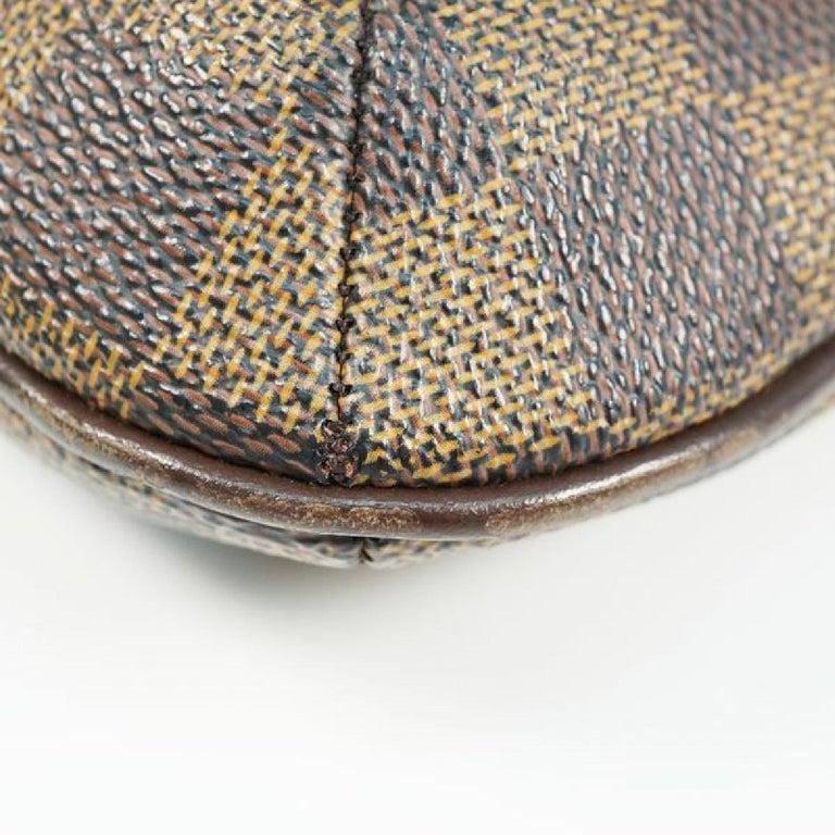 LOUIS VUITTON Musette Salsa shorts Womens shoulder bag N51260 Damier ebene For Sale 2