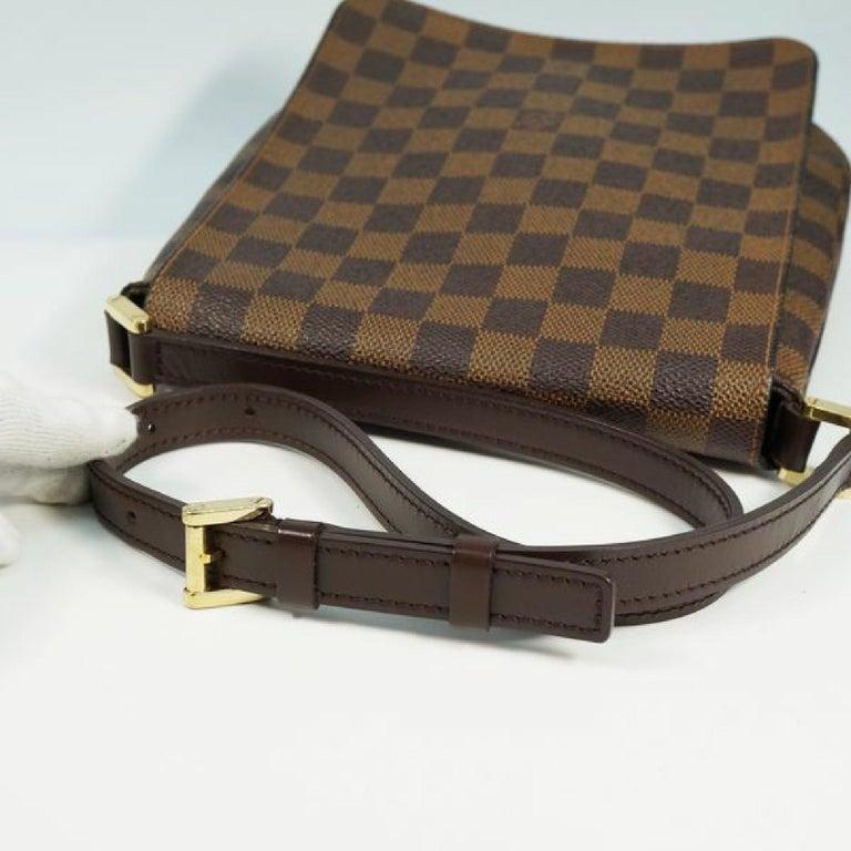 LOUIS VUITTON Musette Salsa shorts Womens shoulder bag N51260 Damier ebene For Sale 3