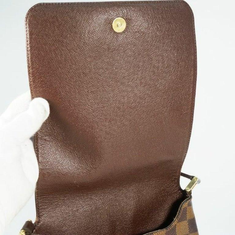 LOUIS VUITTON Musette Salsa shorts Womens shoulder bag N51260 Damier ebene For Sale 4