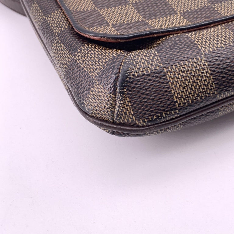 LOUIS VUITTON Musette Shoulder bag in Brown Leather For Sale 6