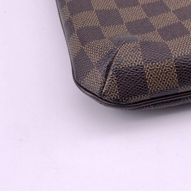 LOUIS VUITTON Musette Shoulder bag in Brown Leather For Sale 8