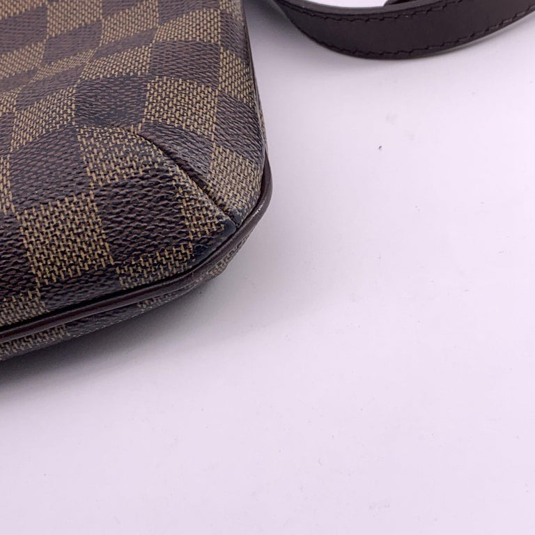LOUIS VUITTON Musette Shoulder bag in Brown Leather For Sale 9