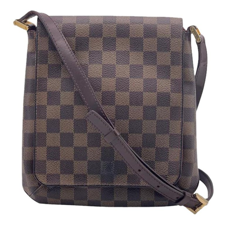 LOUIS VUITTON Musette Shoulder bag in Brown Leather For Sale