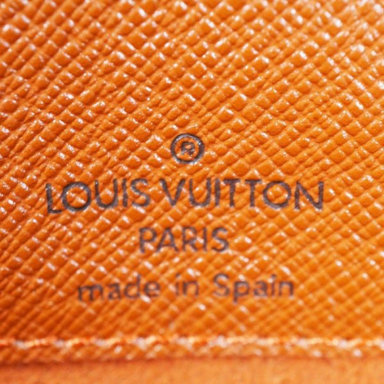 LOUIS VUITTON Musette Tango shorts Womens shoulder bag N51255 Damier ebene For Sale 7