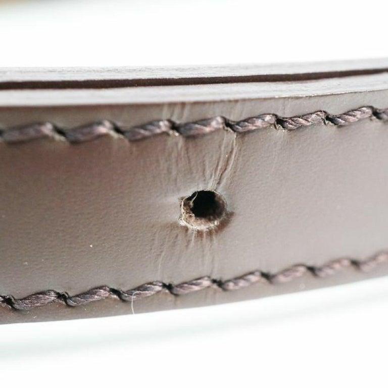 LOUIS VUITTON Musette Tango shorts Womens shoulder bag N51255 Damier ebene For Sale 9