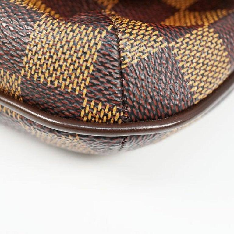 LOUIS VUITTON Musette Tango shorts Womens shoulder bag N51255 Damier ebene For Sale 2