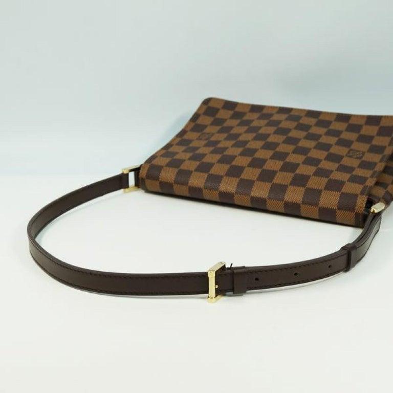 LOUIS VUITTON Musette Tango shorts Womens shoulder bag N51255 Damier ebene For Sale 3