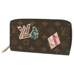 LOUIS VUITTON My LV World Tour Zippy Wallet long wallet