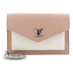 Louis Vuitton Mylockme Chain Pochette Leather