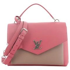 Louis Vuitton Mylockme Handbag Leather