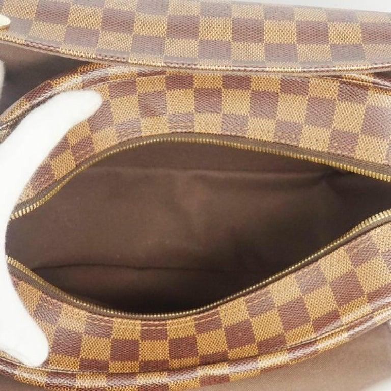LOUIS VUITTON Naviglio unisex shoulder bag N45255 Damier ebene For Sale 6