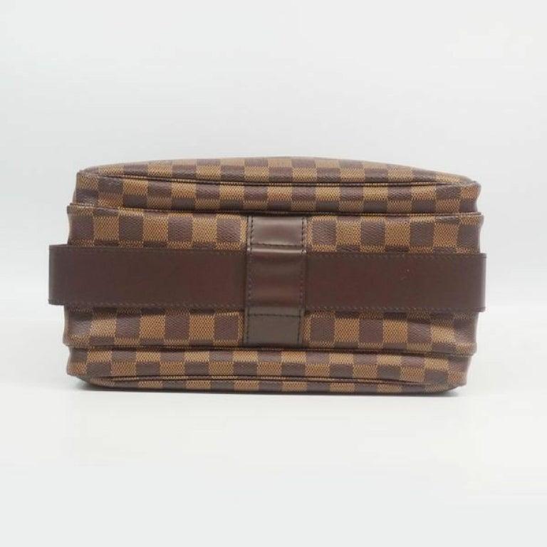 Women's LOUIS VUITTON Naviglio unisex shoulder bag N45255 Damier ebene For Sale