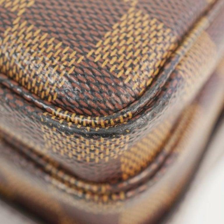 LOUIS VUITTON Naviglio unisex shoulder bag N45255 Damier ebene For Sale 1