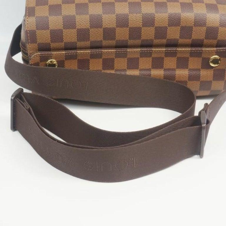 LOUIS VUITTON Naviglio unisex shoulder bag N45255 Damier ebene For Sale 3
