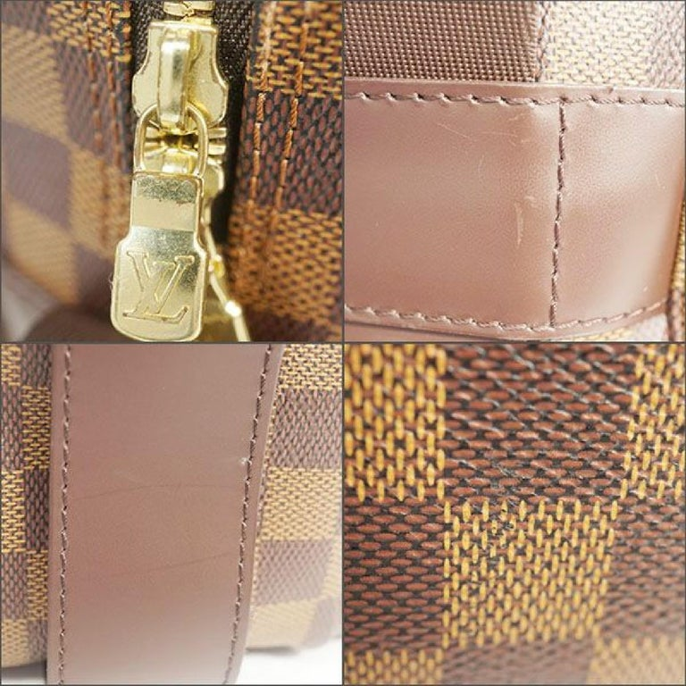 LOUIS VUITTON Naviglio unisex shoulder bag N45255 Damier ebene For Sale 5