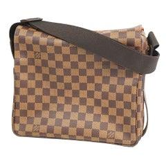 LOUIS VUITTON Naviglio unisex shoulder bag N45255 Damier ebene
