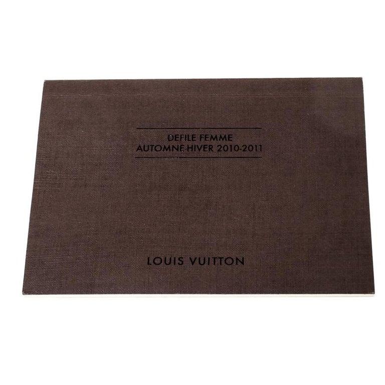 Women's Louis Vuitton Navy Blue Gris Monogram Limited Edition Volupte Beaute Bag For Sale