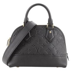 Louis Vuitton Neo Alma Handbag Monogram Empreinte Leather BB