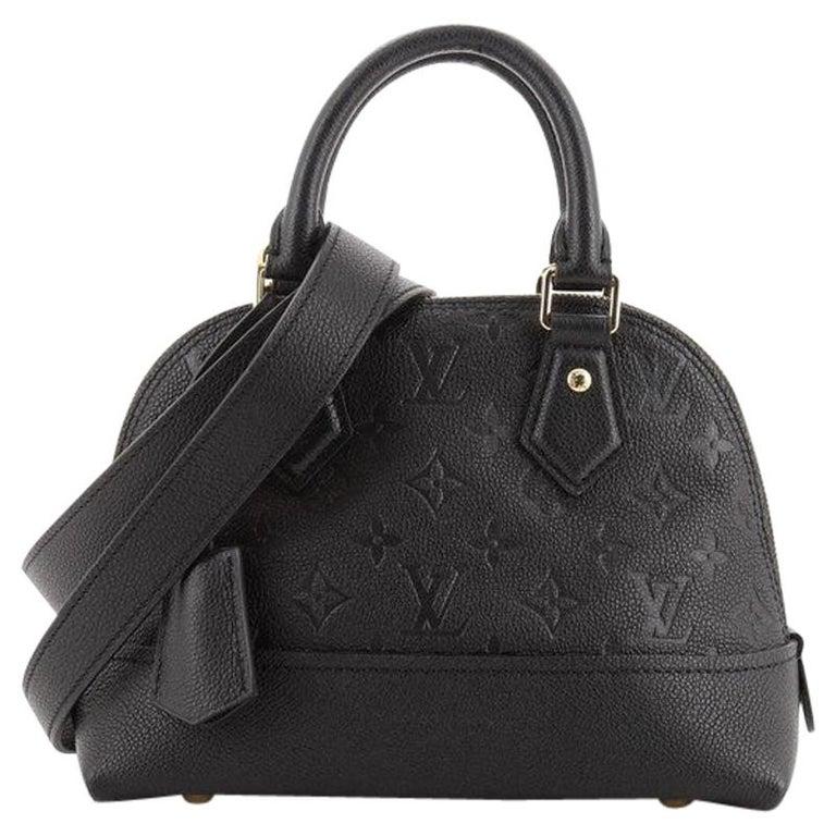 Louis Vuitton Neo Alma Handbag Monogram Empreinte Leather BB For Sale