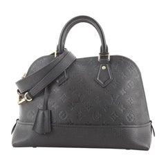 Louis Vuitton Neo Alma Handbag Monogram Empreinte Leather PM