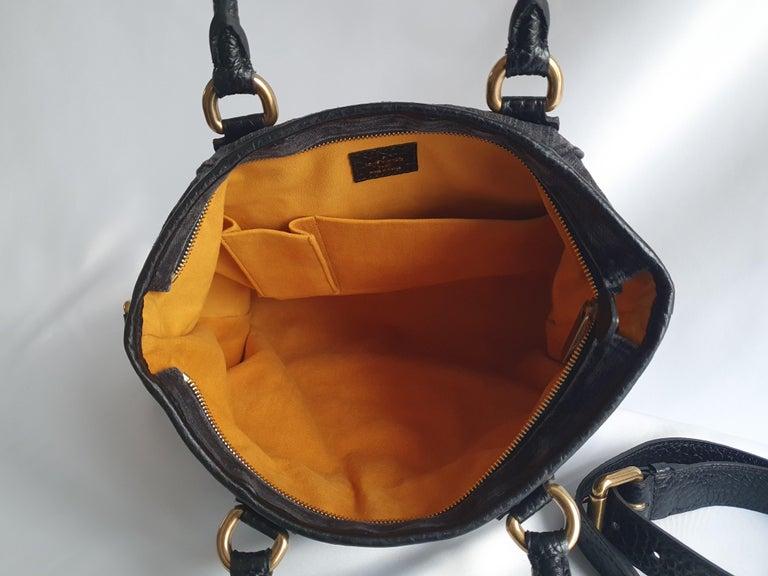 Women's Louis Vuitton, Neo Gaby in grey Denim For Sale