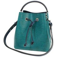 LOUIS VUITTON NEO NoeBB bicolor 2way Womens shoulder bag M53612 blue x green