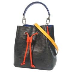 LOUIS VUITTON NEO NoeBB Womens shoulder bag M52853 black x blue x red