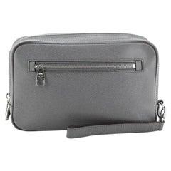 Louis Vuitton Neo Pavel Handbag Taiga Leather