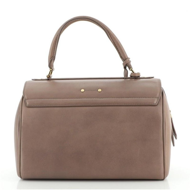 Louis Vuitton Neo Speedy Bag Cuir Orfevre Leather PM In Good Condition For Sale In New York, NY