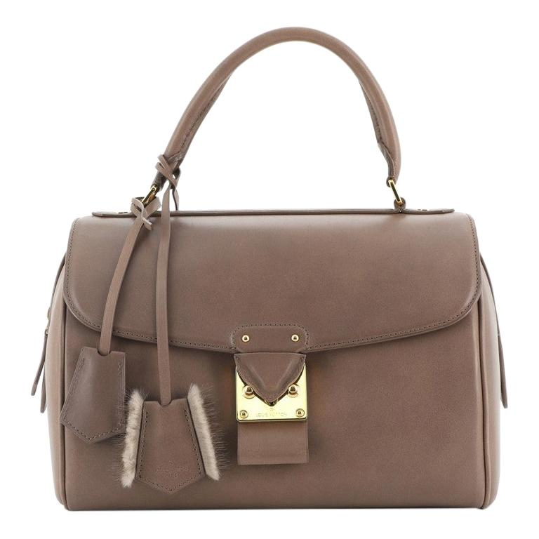 Louis Vuitton Neo Speedy Bag Cuir Orfevre Leather PM For Sale