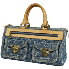 LOUIS VUITTON NEO Speedy Womens handbag M95019 blue