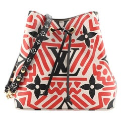 Louis Vuitton NeoNoe Handbag Limited Edition Crafty Monogram Empreinte Gi