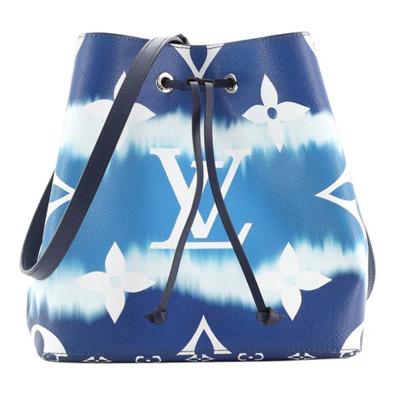 Louis Vuitton NeoNoe Handbag Limited Edition Escale Monogram Giant MM For Sale