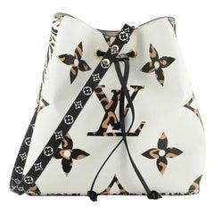 Louis Vuitton NeoNoe Handbag Limited Edition Jungle Monogram Giant