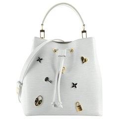 Louis Vuitton NeoNoe Handbag Love Lock Epi Leather