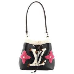 Louis Vuitton NeoNoe Handbag Shearling Monogram MM