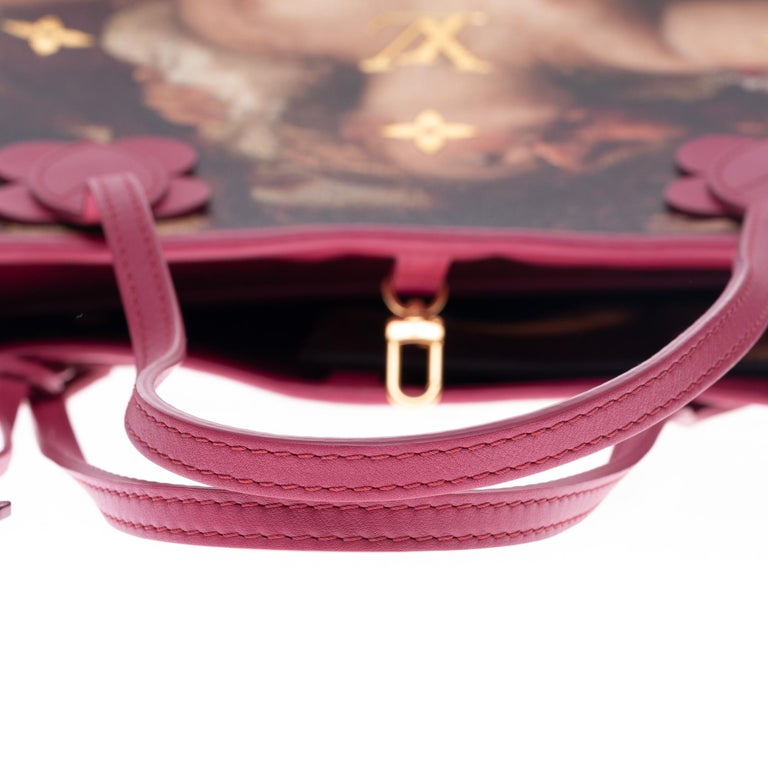 Louis Vuitton Neverfull handbag limited edition  Titian by Jeff Koons  6