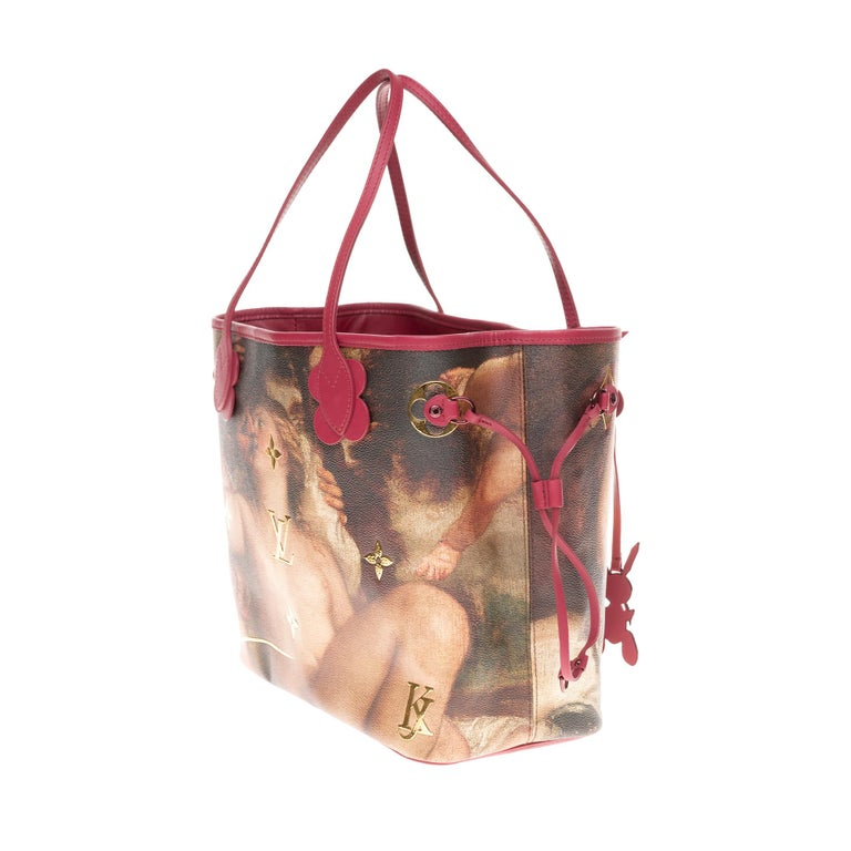 Women's Louis Vuitton Neverfull handbag limited edition  Titian by Jeff Koons