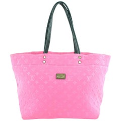 Louis Vuitton Neverfull Limited Edition Fuchsia Scubaneverfull Mm 16lz0114 Tote
