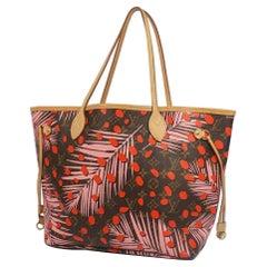 LOUIS VUITTON Neverfull MM jungle dot Womens tote bag M41979 Poppy