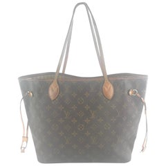 Louis Vuitton Neverfull Monogram Mm 1le1226 Brown Coated Canvas Tote
