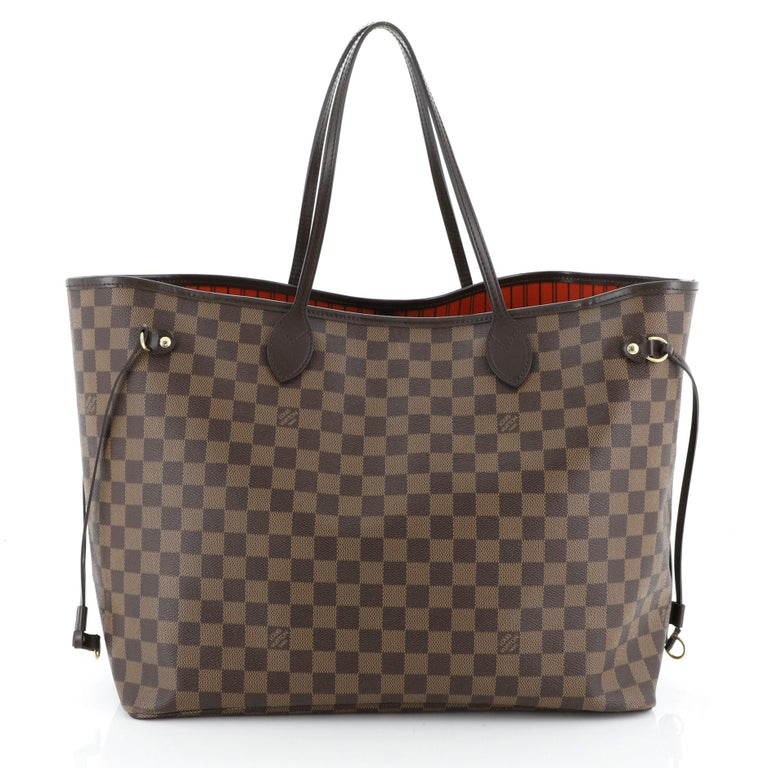 Women's or Men's Louis Vuitton Neverfull NM Tote Damier GM For Sale