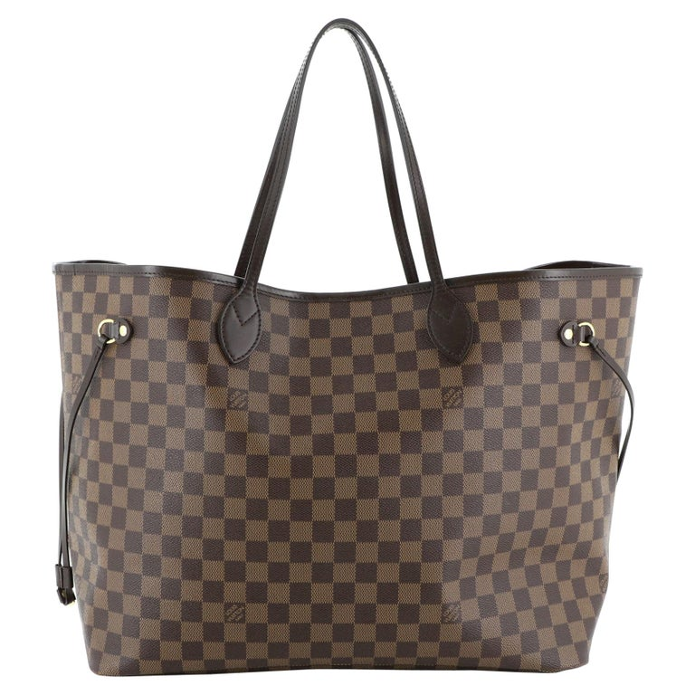 Louis Vuitton Neverfull NM Tote Damier GM For Sale