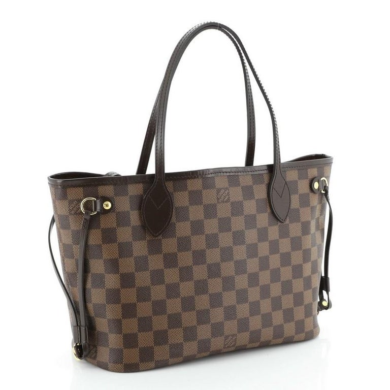 Louis Vuitton Neverfull NM Tote Damier PM In Good Condition For Sale In New York, NY