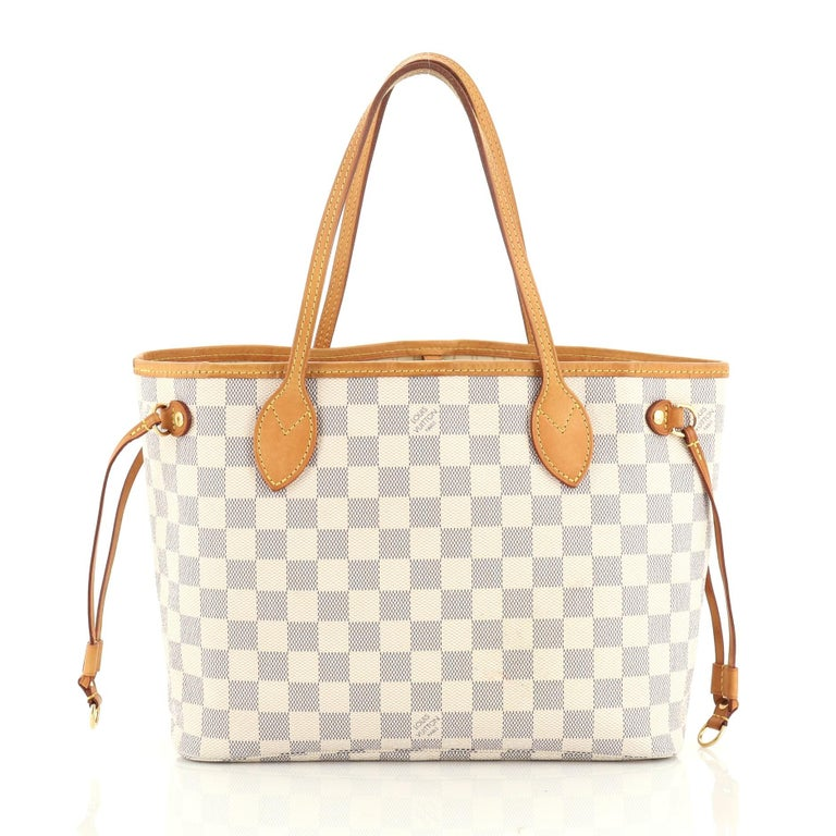 Women's or Men's Louis Vuitton Neverfull NM Tote Damier PM For Sale