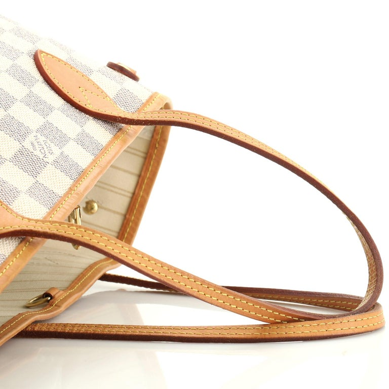Louis Vuitton Neverfull NM Tote Damier PM For Sale 4