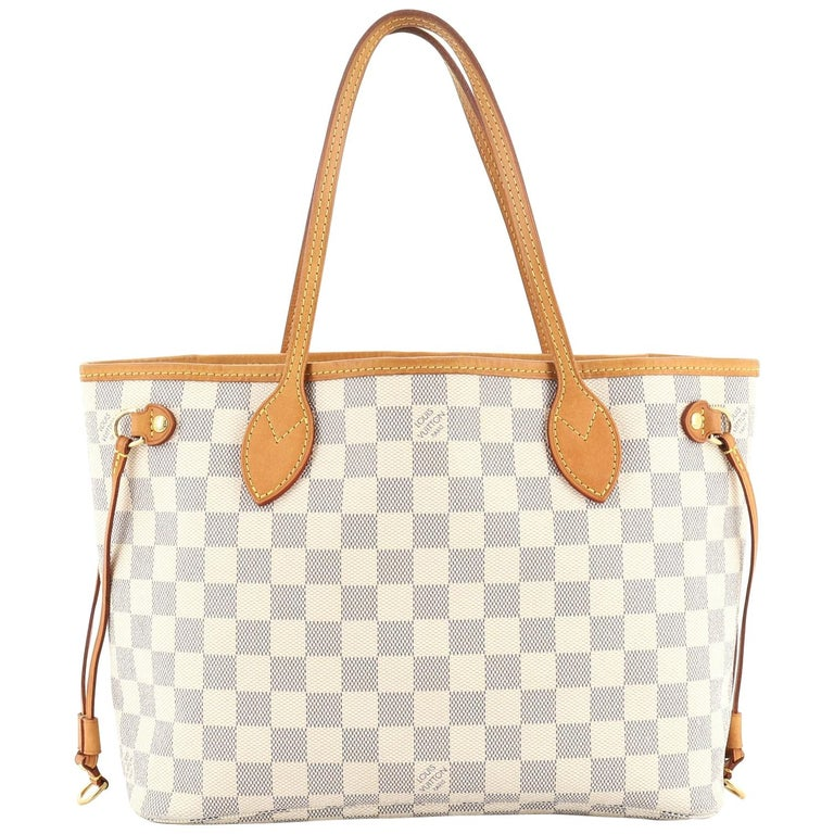 Louis Vuitton Neverfull NM Tote Damier PM For Sale