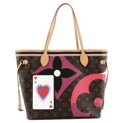 Louis Vuitton Neverfull NM Tote Limited Edition Game On Monogram Canvas M