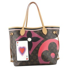 Louis Vuitton Neverfull NM Tote Limited Edition Game On Monogram MM