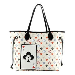 Louis Vuitton Neverfull NM Tote Limited Edition Game On Multicolor Monogr